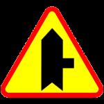 znak A6b