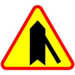znak A6d